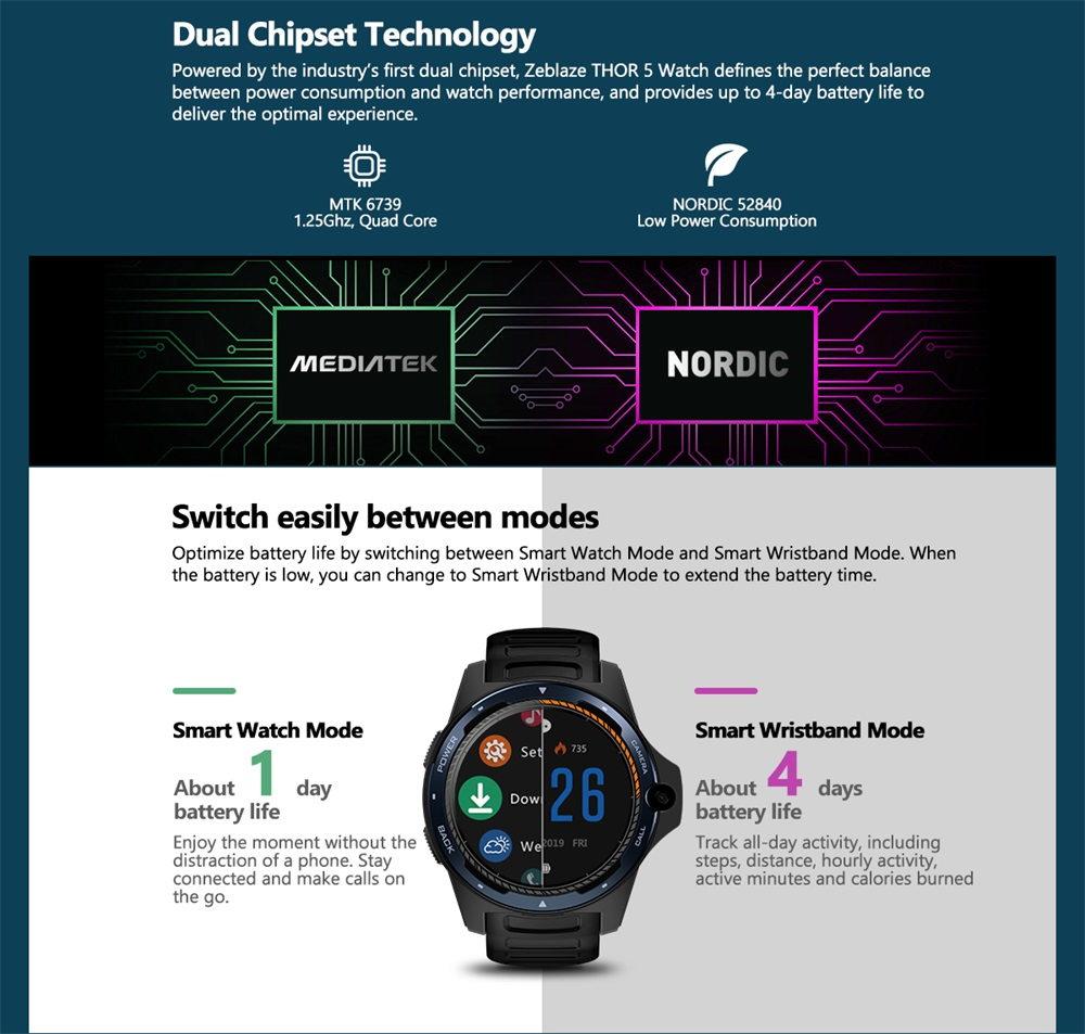 zeblaze thor 5 smartwatch