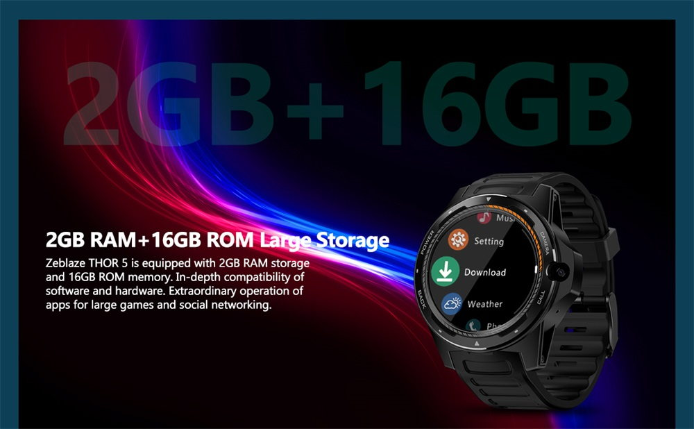 buy zeblaze thor 5 smartwatch