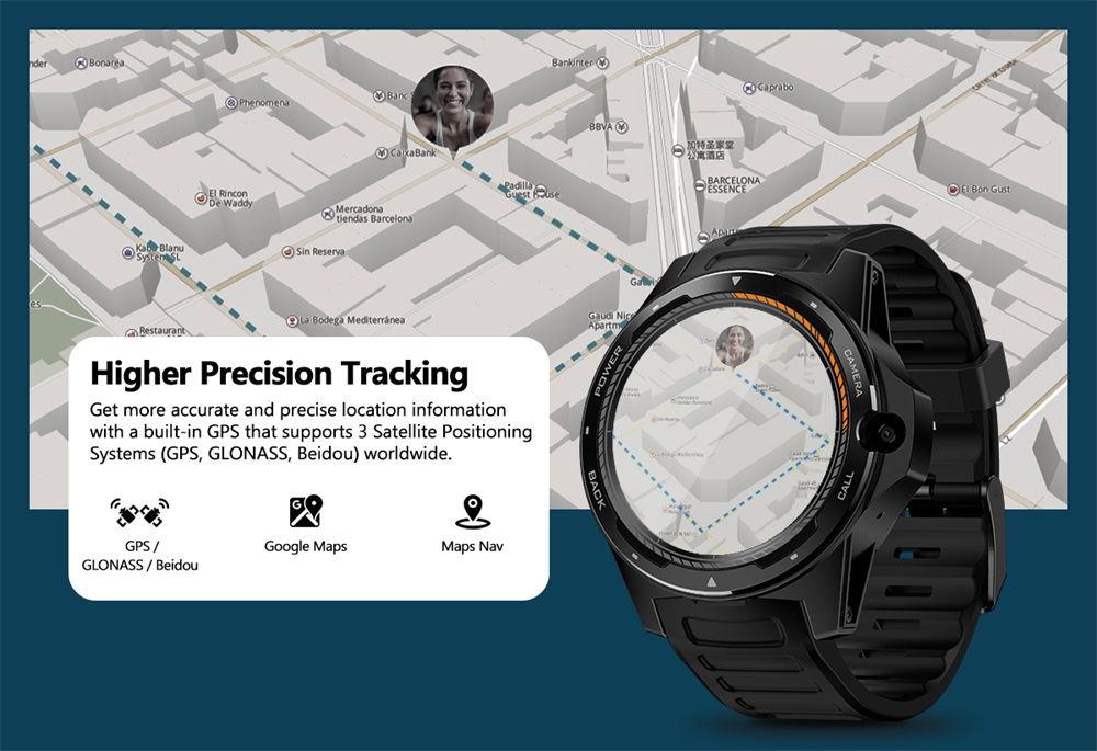 2019 zeblaze thor 5 smartwatch