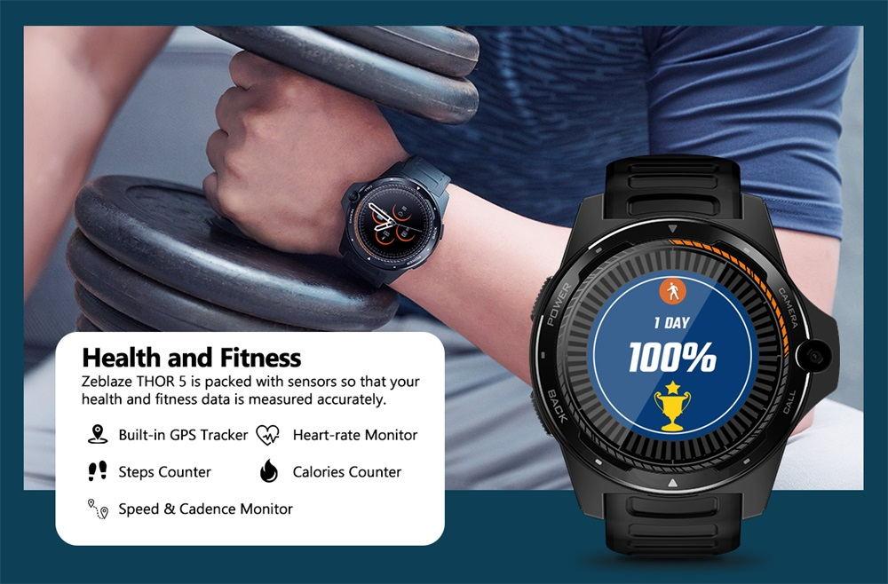 zeblaze thor 5 smartwatch for sale