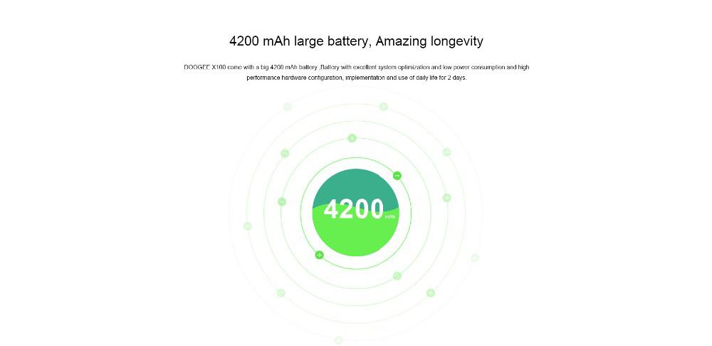 new doogee X100 smartphone global version