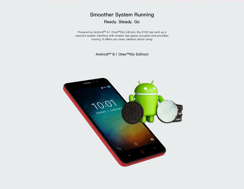buy doogee X100 smartphone 1gb 8gb global version