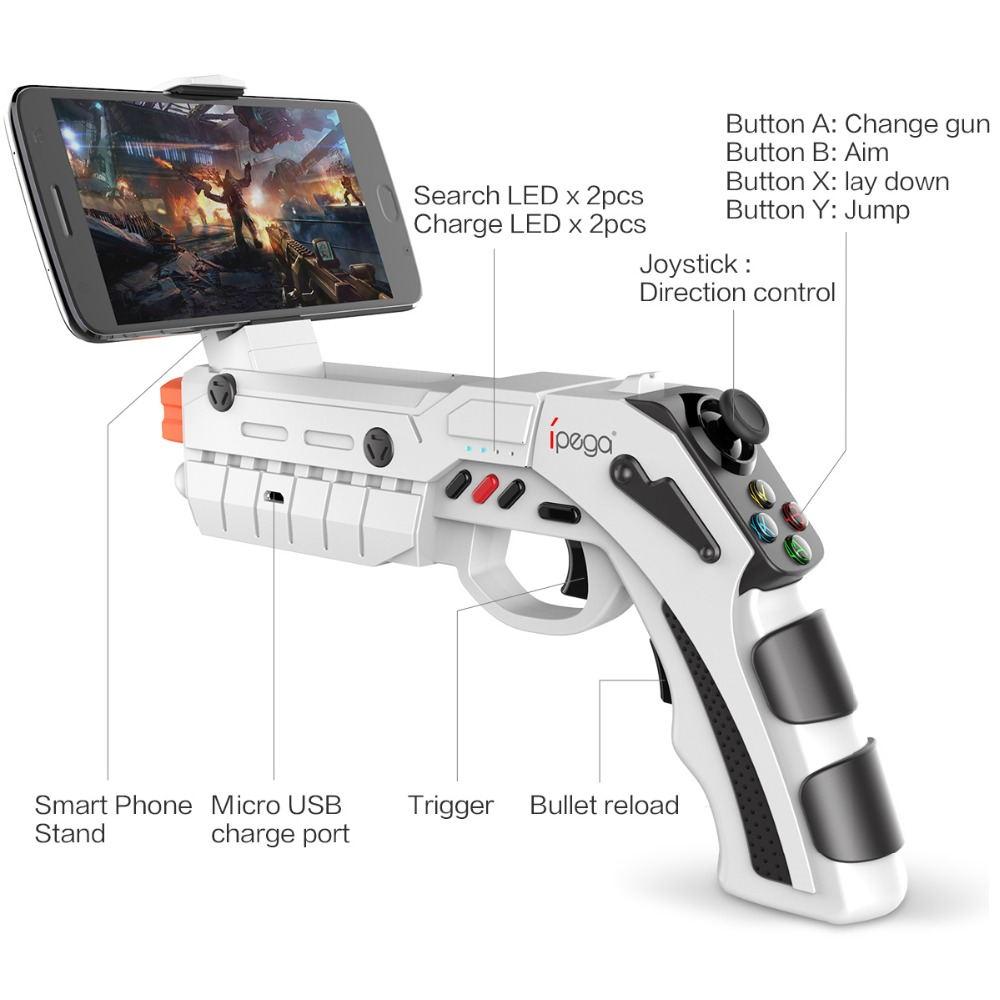 Controlador de juegos iPEGA PG-9082 - realidad virtual y aumentada, jugabilidad único IPEGA-PG-9082-Bluetooth-Controller-2