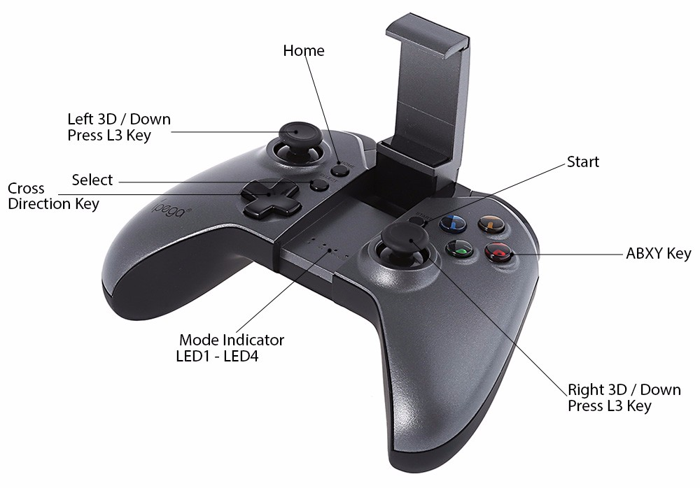 2019 ipega pg-9062 bluetooth gamepad
