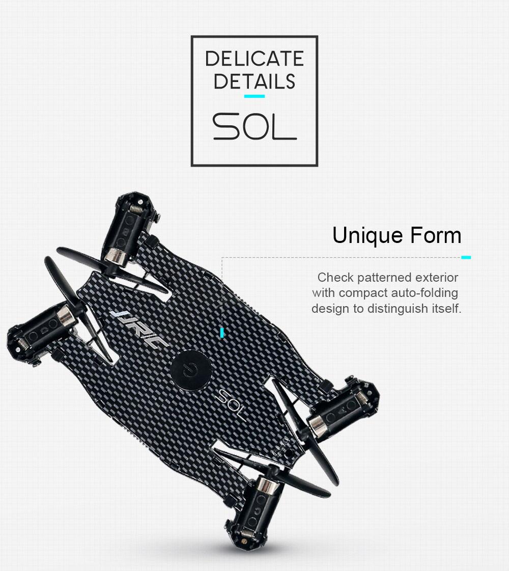 buy jjrc h49 sol wifi mini foldable rc pocket selfie drone 2019