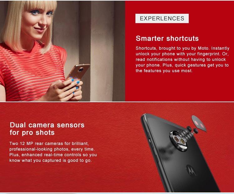 motorola moto z2 force smartphone global version for sale