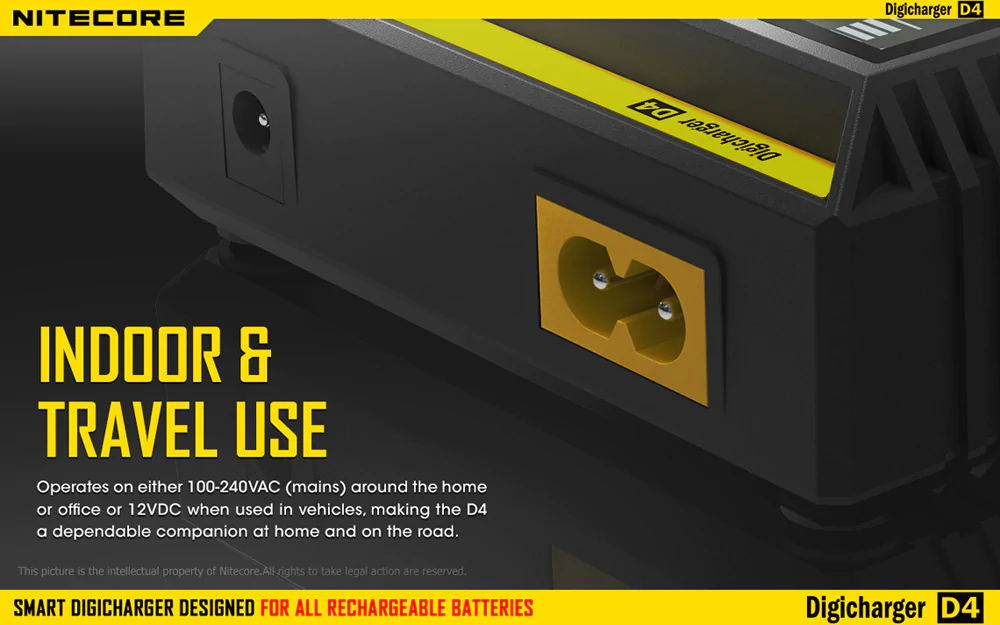 new nitecore d4 universal smart battery charger