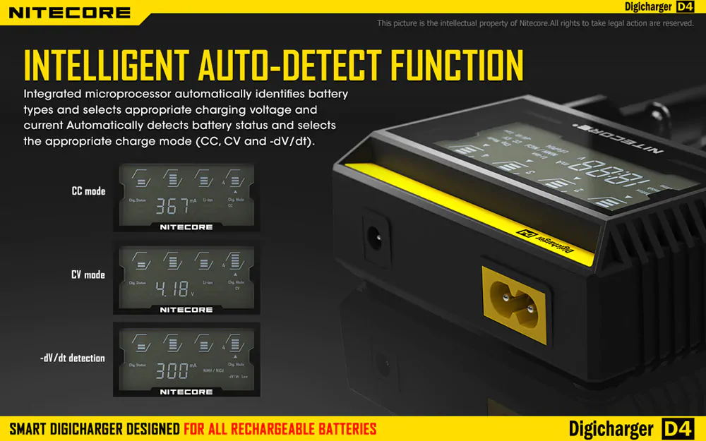 buy nitecore d4 battery charger