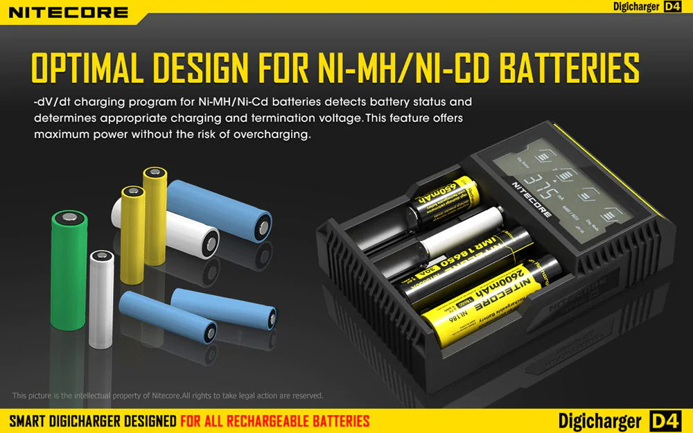 nitecore d4 battery charger 2019