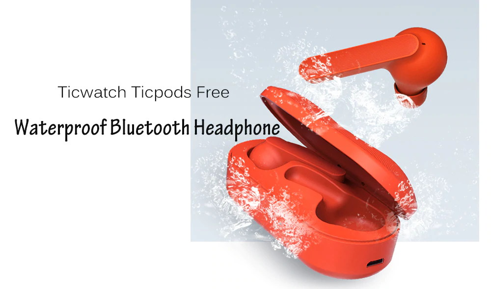 ticwatch ticpods free wireless headphone
