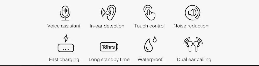 new ticwatch ticpods free wireless headphone