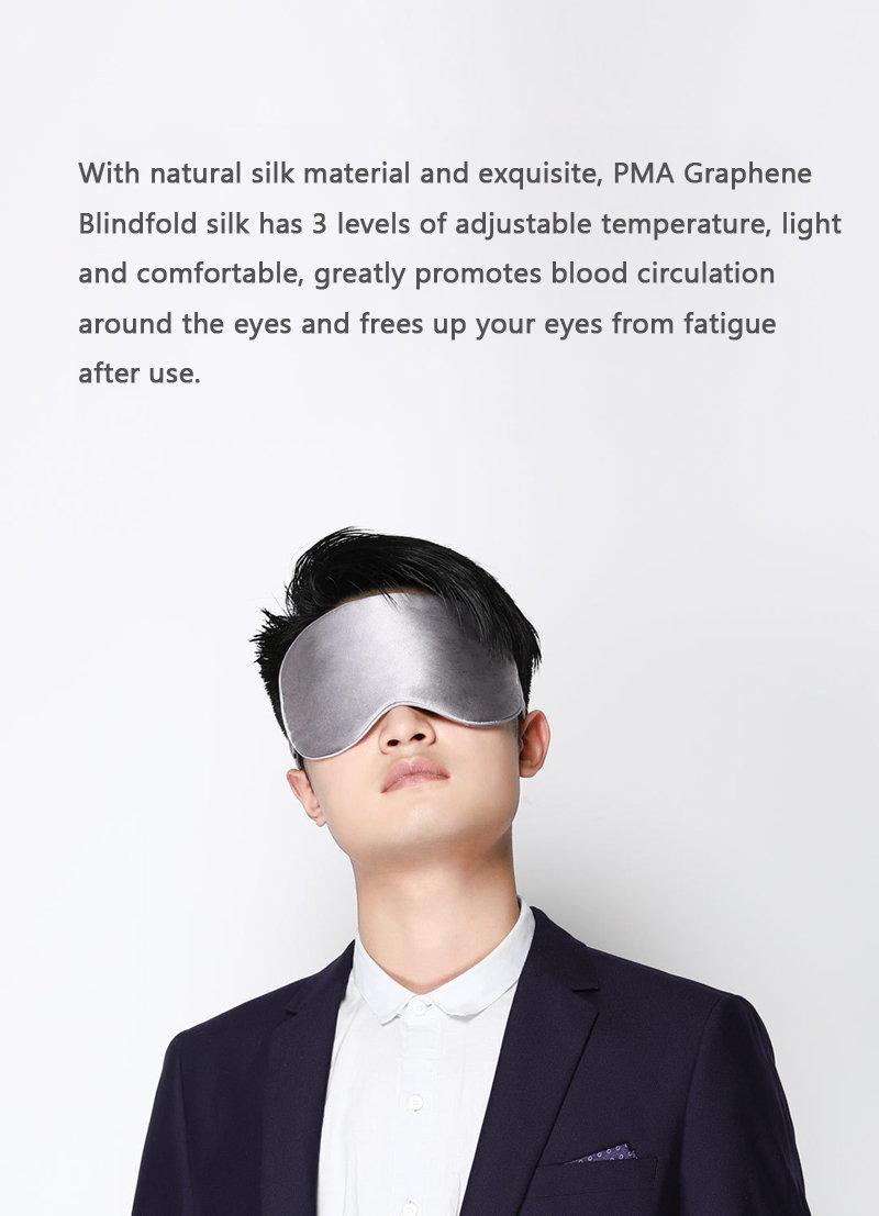 new xiaomi mijia heated silk eye mask