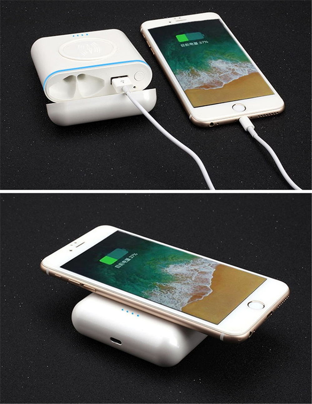 3-in-1 mobile power headphones
