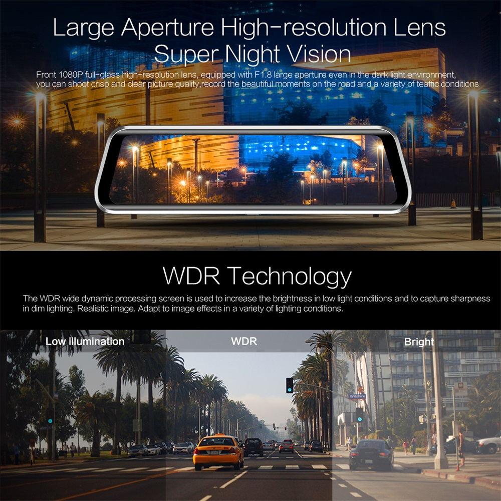 anytek t900+ basic mirror camera for sale