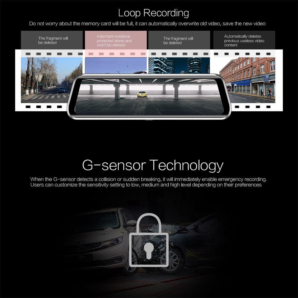 new anytek t900+ basic mirror camera