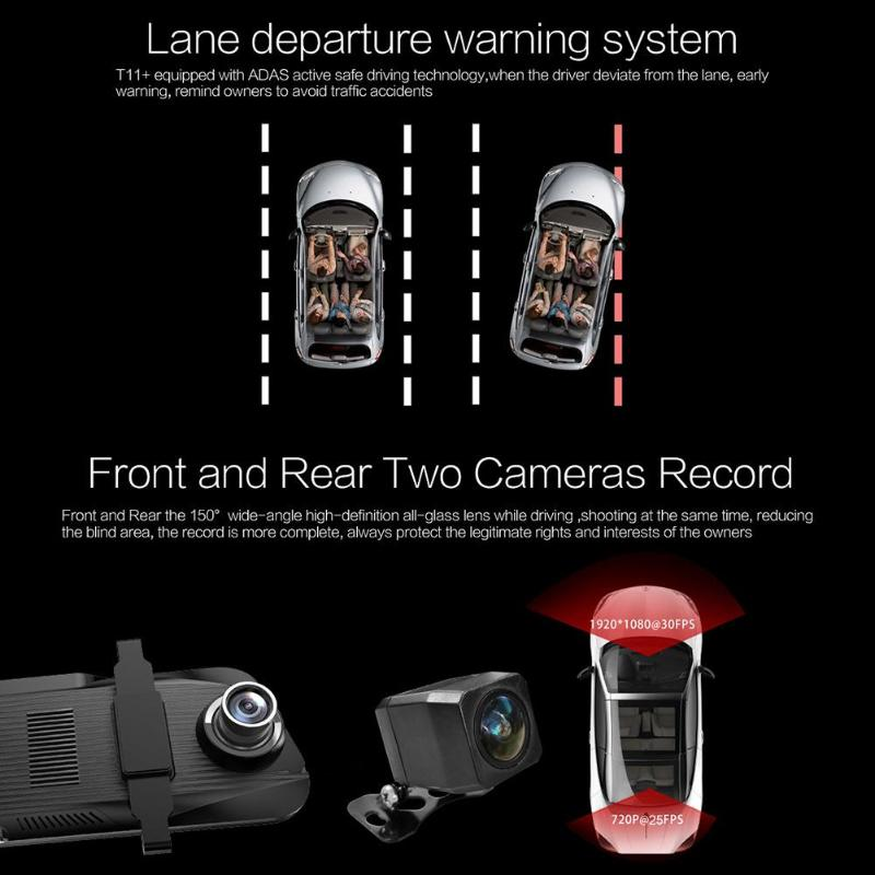 buy anytek car dash cam camera