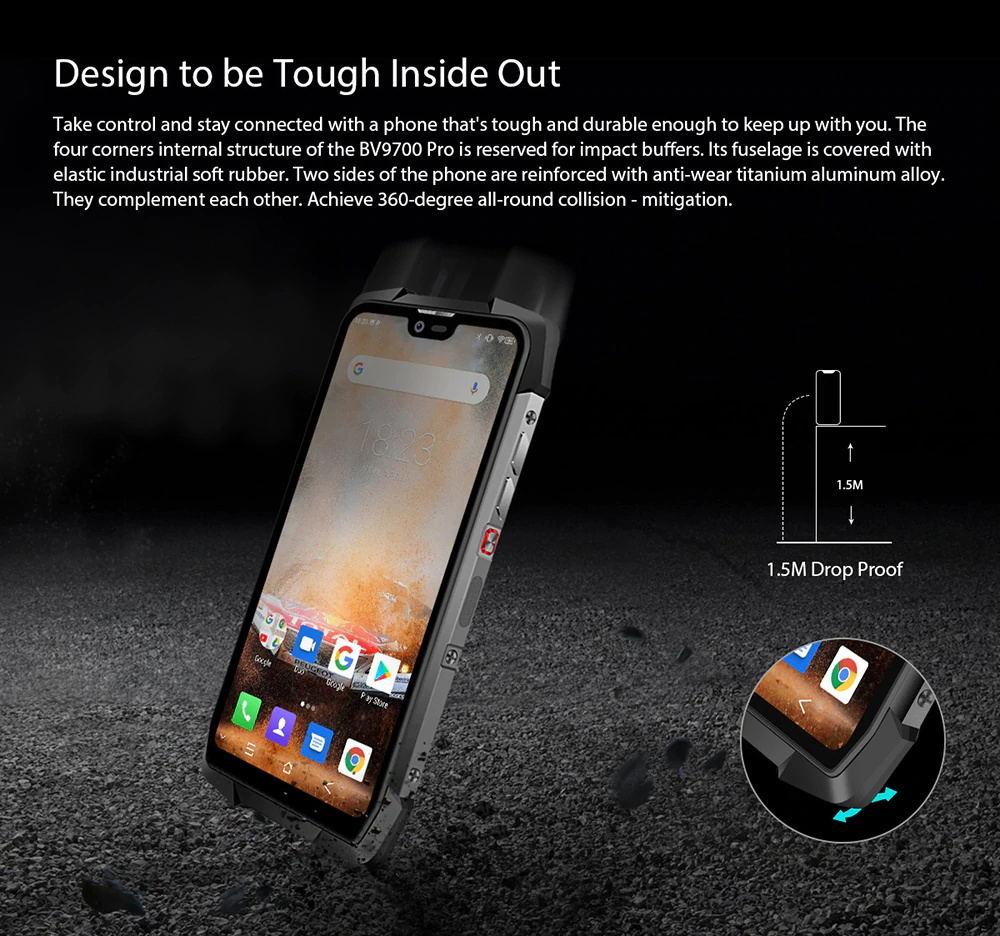 new blackview bv9700 pro smartphone