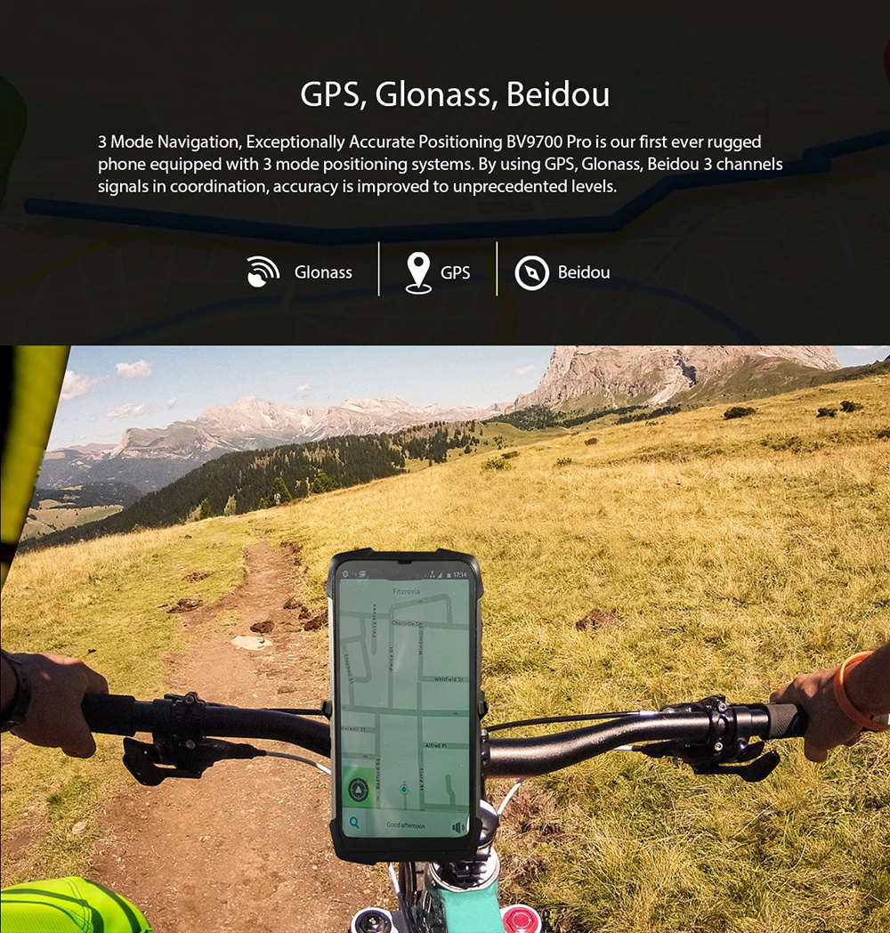 buy global blackview bv9700 pro  smartphone