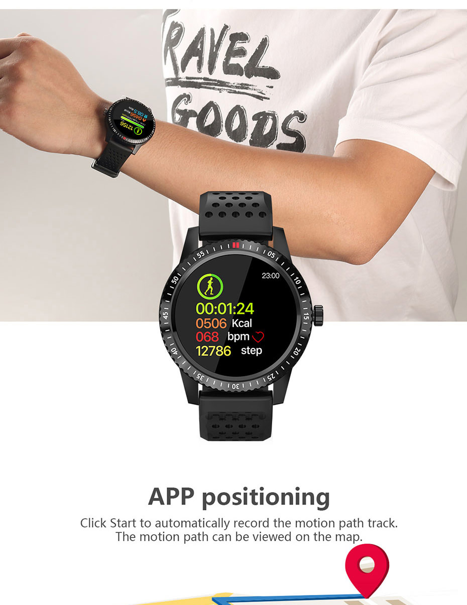 new colmi ct1 bluetooth smartwatch