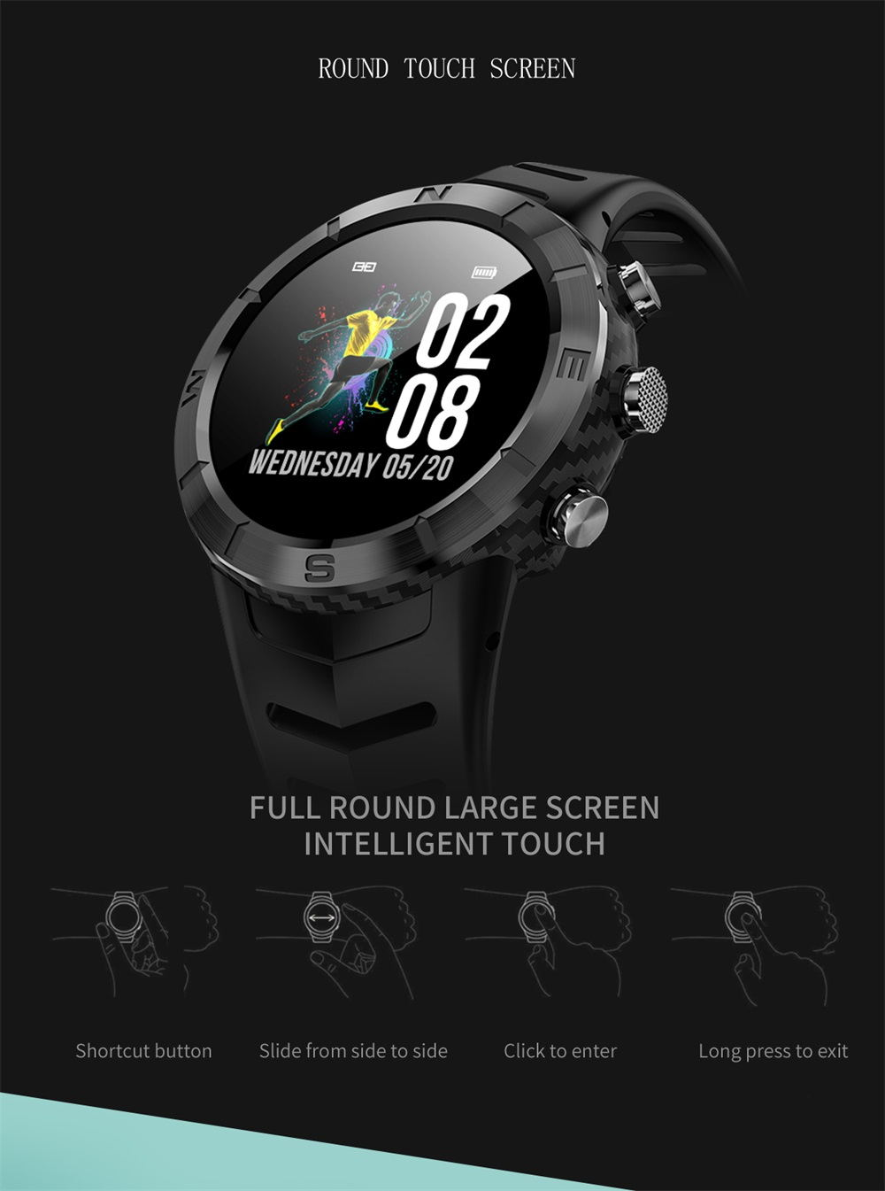buy dtno.1 dt08 bluetooth smartwatch