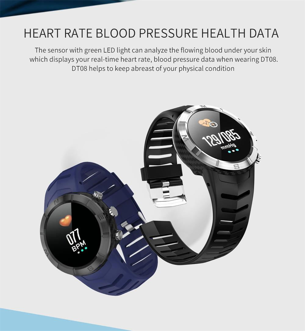 dtno.1 dt08 bluetooth smartwatch for sale
