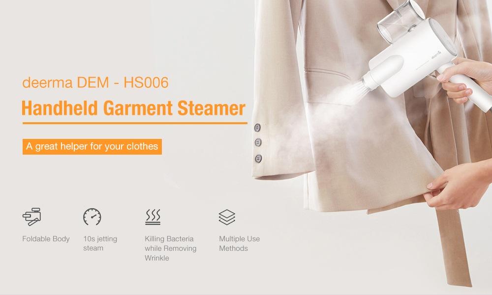 deerma dem-hs006 handheld garment steamer