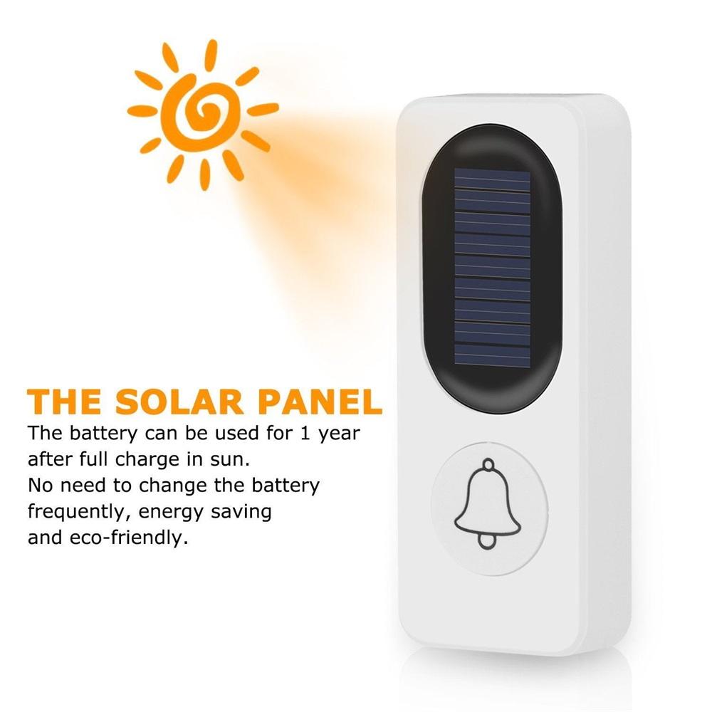 fk-d009 solar doorbell