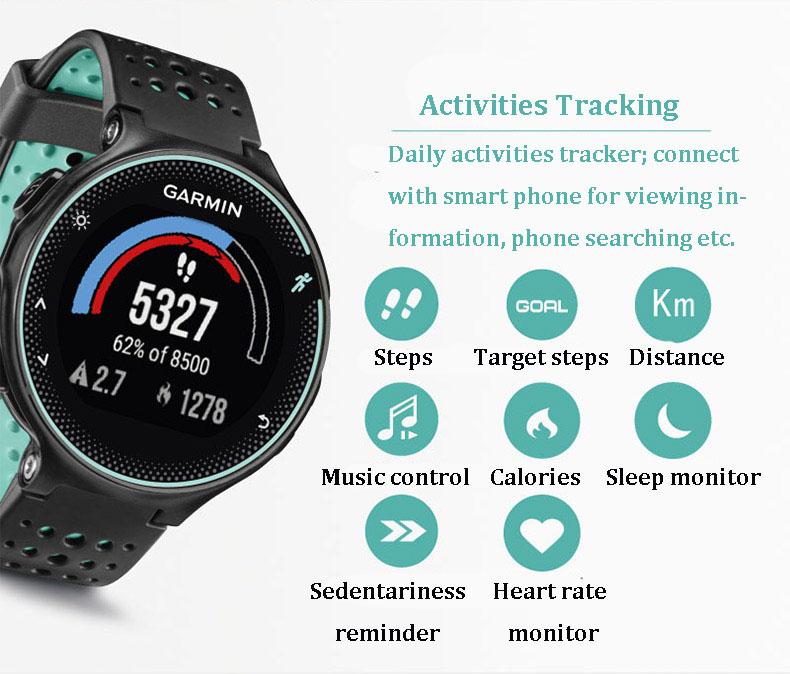 new garmin forerunner 235 smartwatch