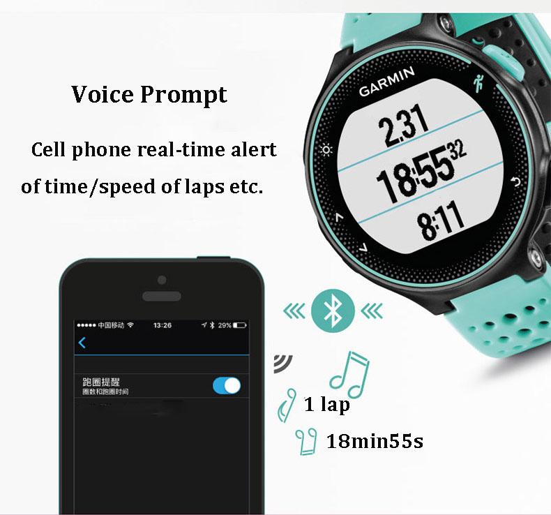 garmin forerunner 235 smartwatch for sale