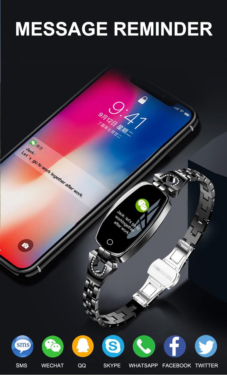 new h8 smart bracelet