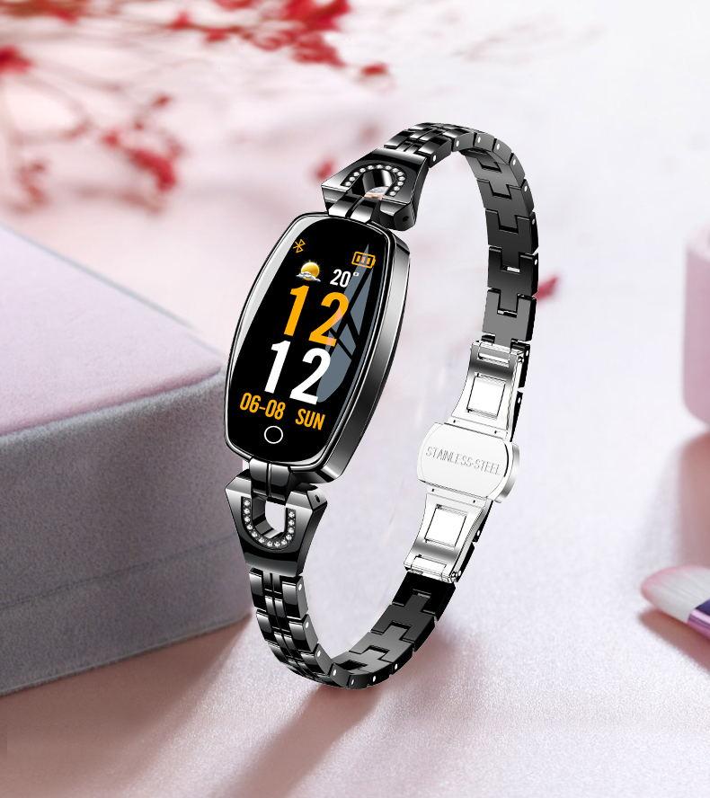 h8 smart bracelet black
