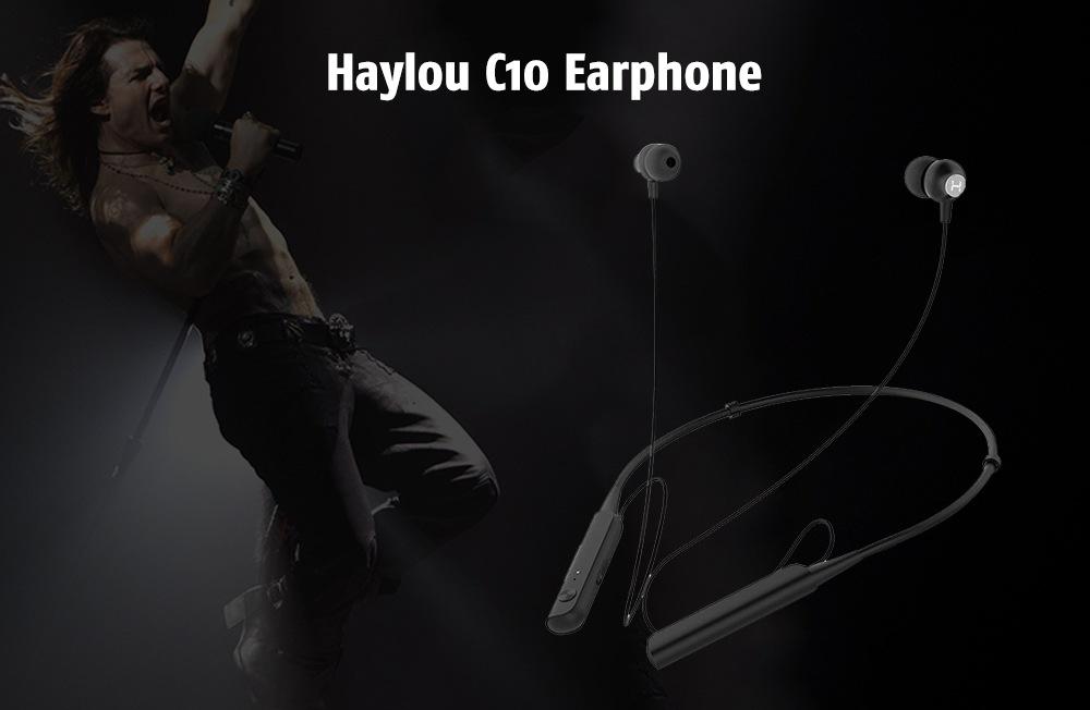 Xiaomi Haylou C10 - reducción de ruido dual, estéreo bilateral Haylou-c10-earphone-1