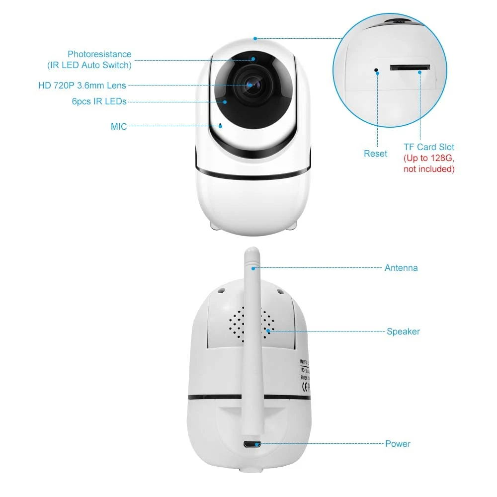 home security wifi camera for sale