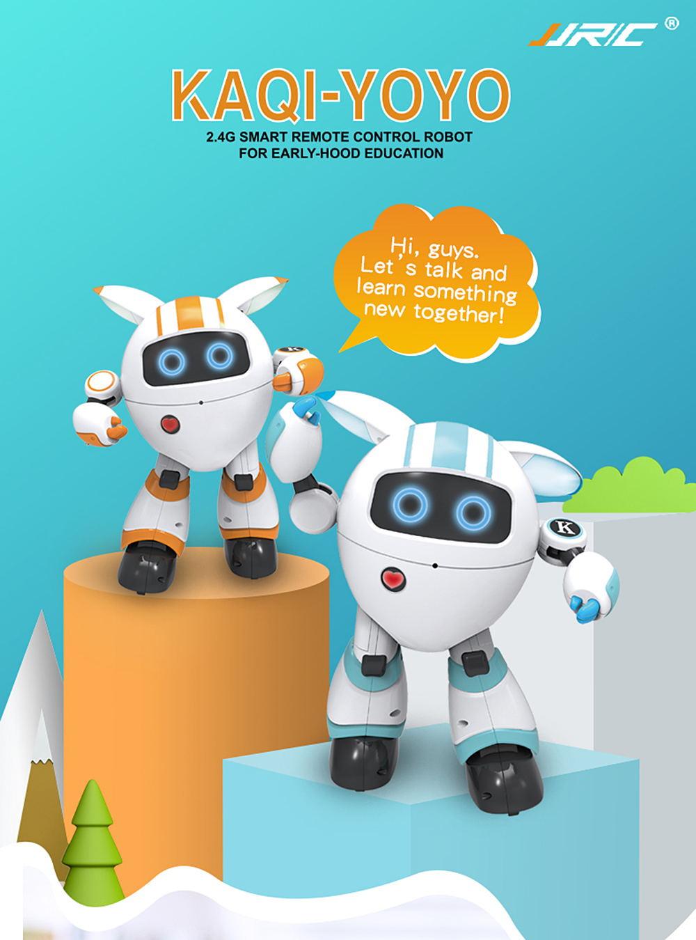 jjrc r14 kaqi-yoyo smart rc robot