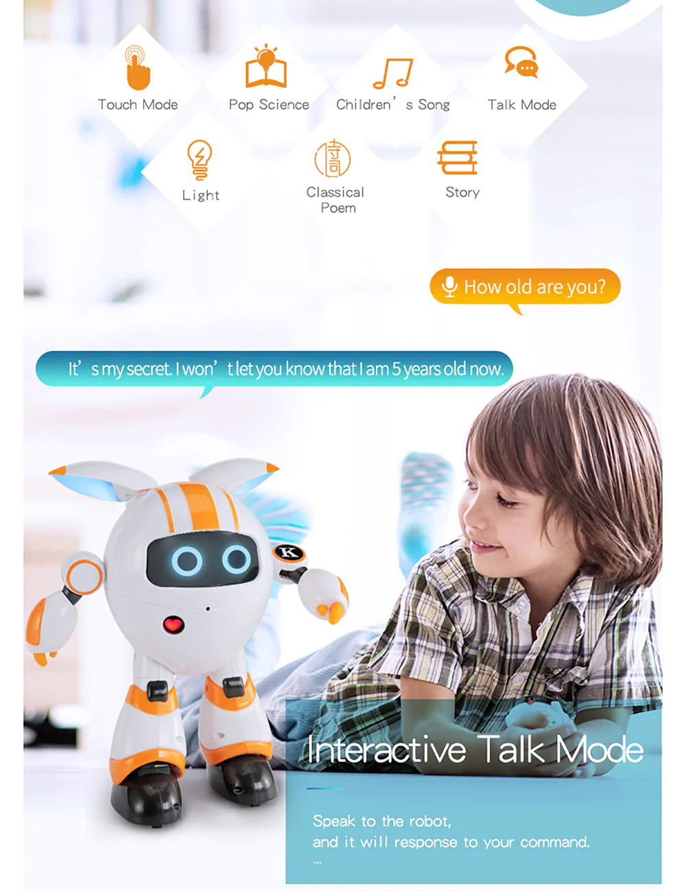 buy jjrc r14 kaqi-yoyo smart rc robot
