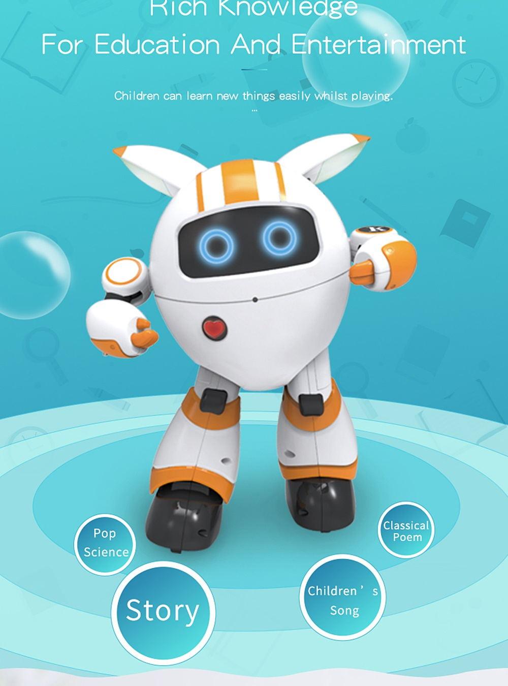 jjrc r14 smart robot toy for sale