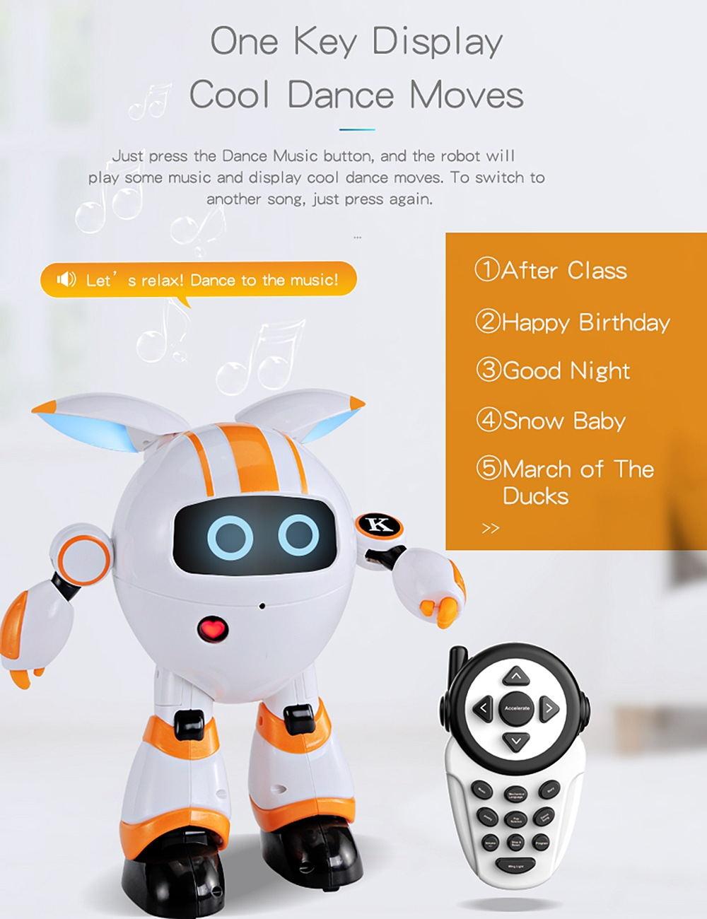 2019 jjrc r14 smart robot toy