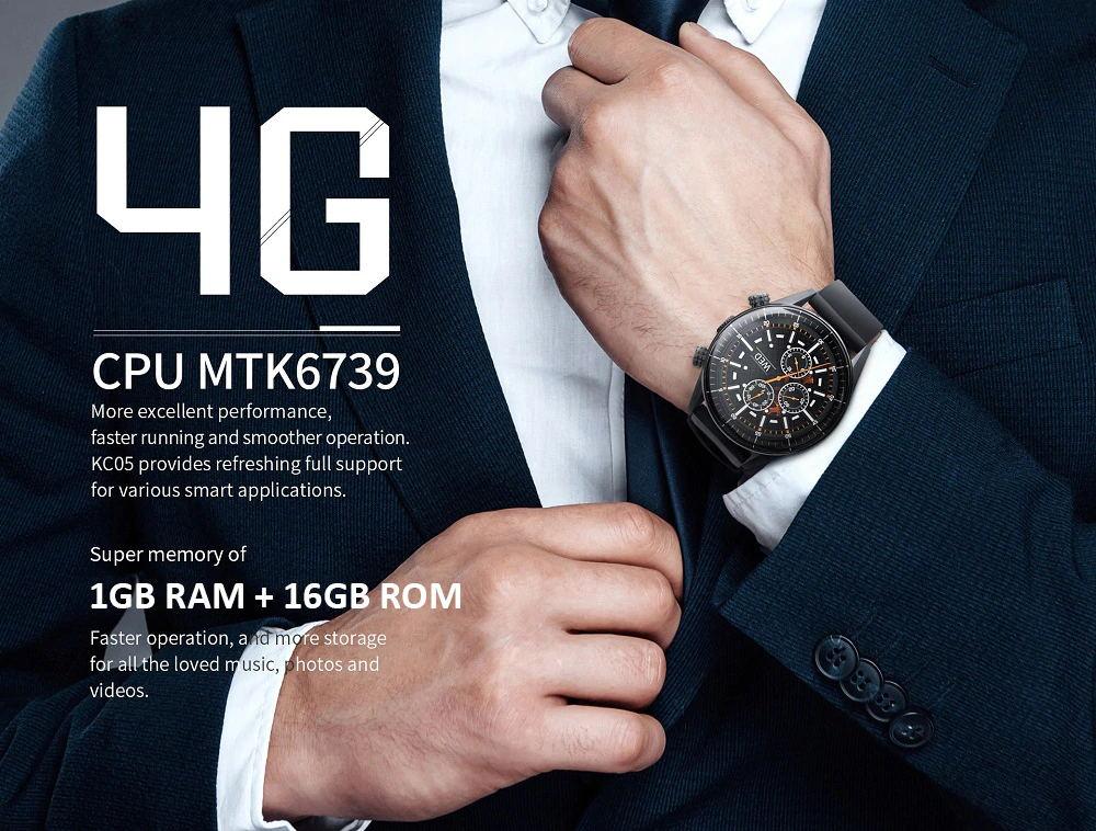 buy kingwear kc05 4g smartwatch