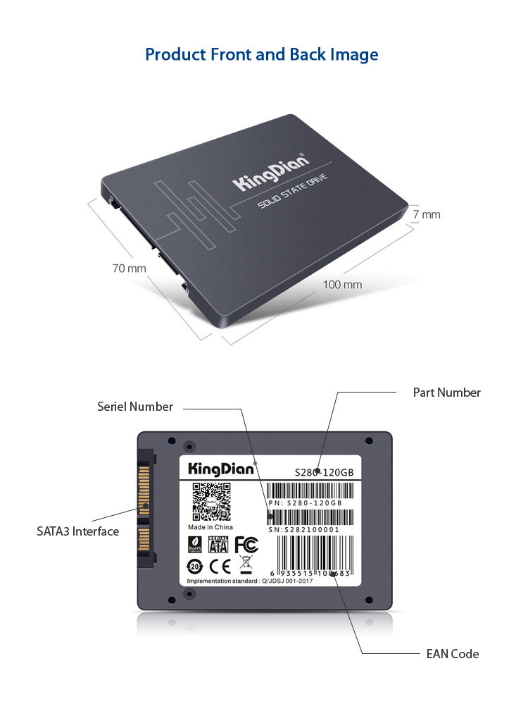 2019 kingdian s280 solid state drive