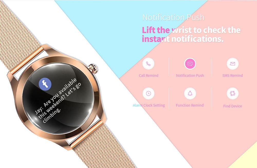 kingwear kw10 smartwatch online