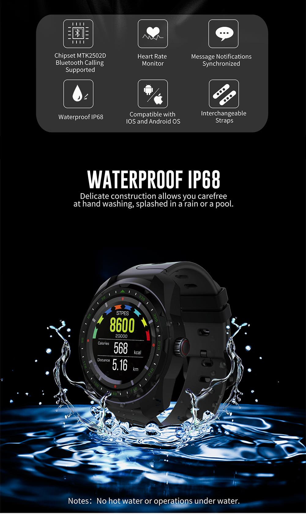buy kingwear kw01 smartwatch