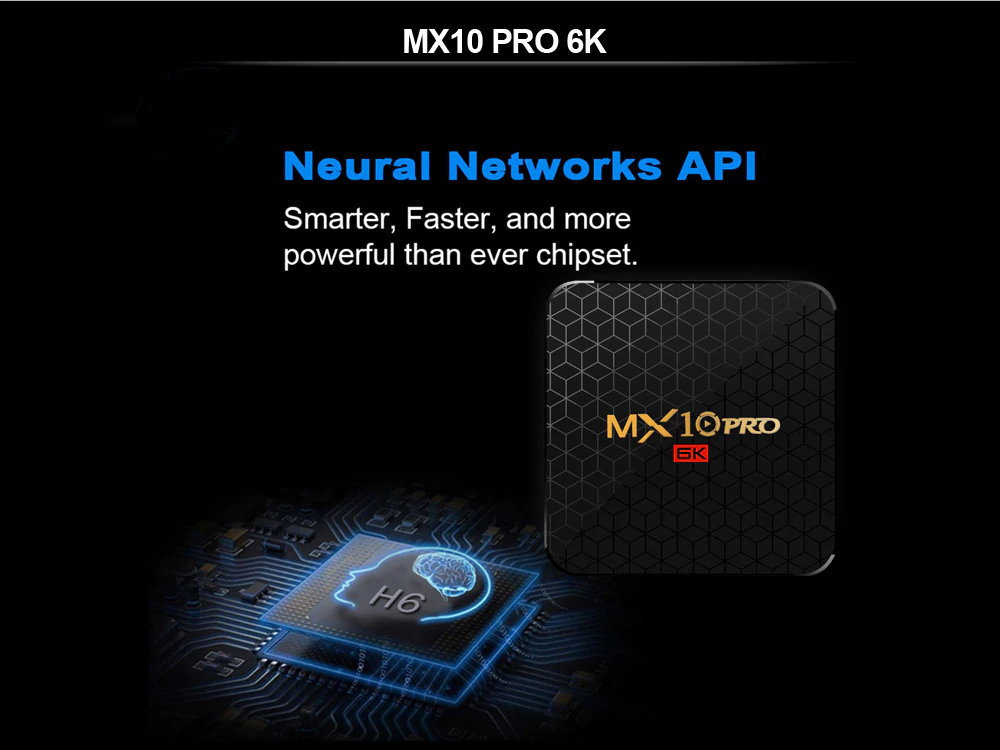 mx10 pro wifi tv box 32gb