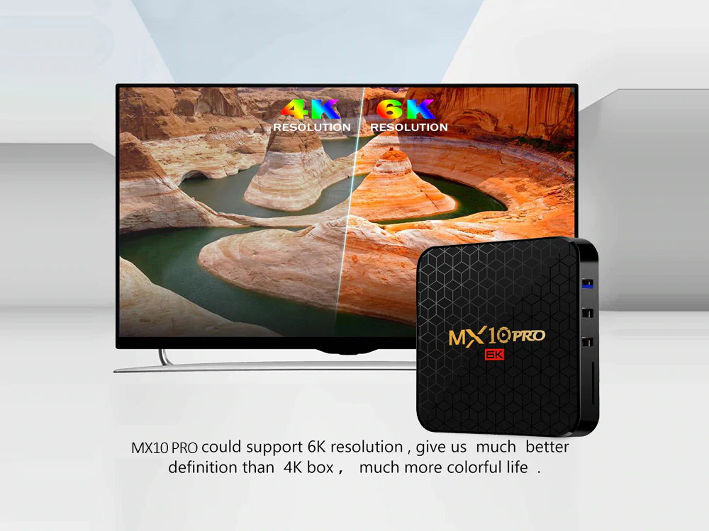 new mx10 pro wifi tv box 32gb