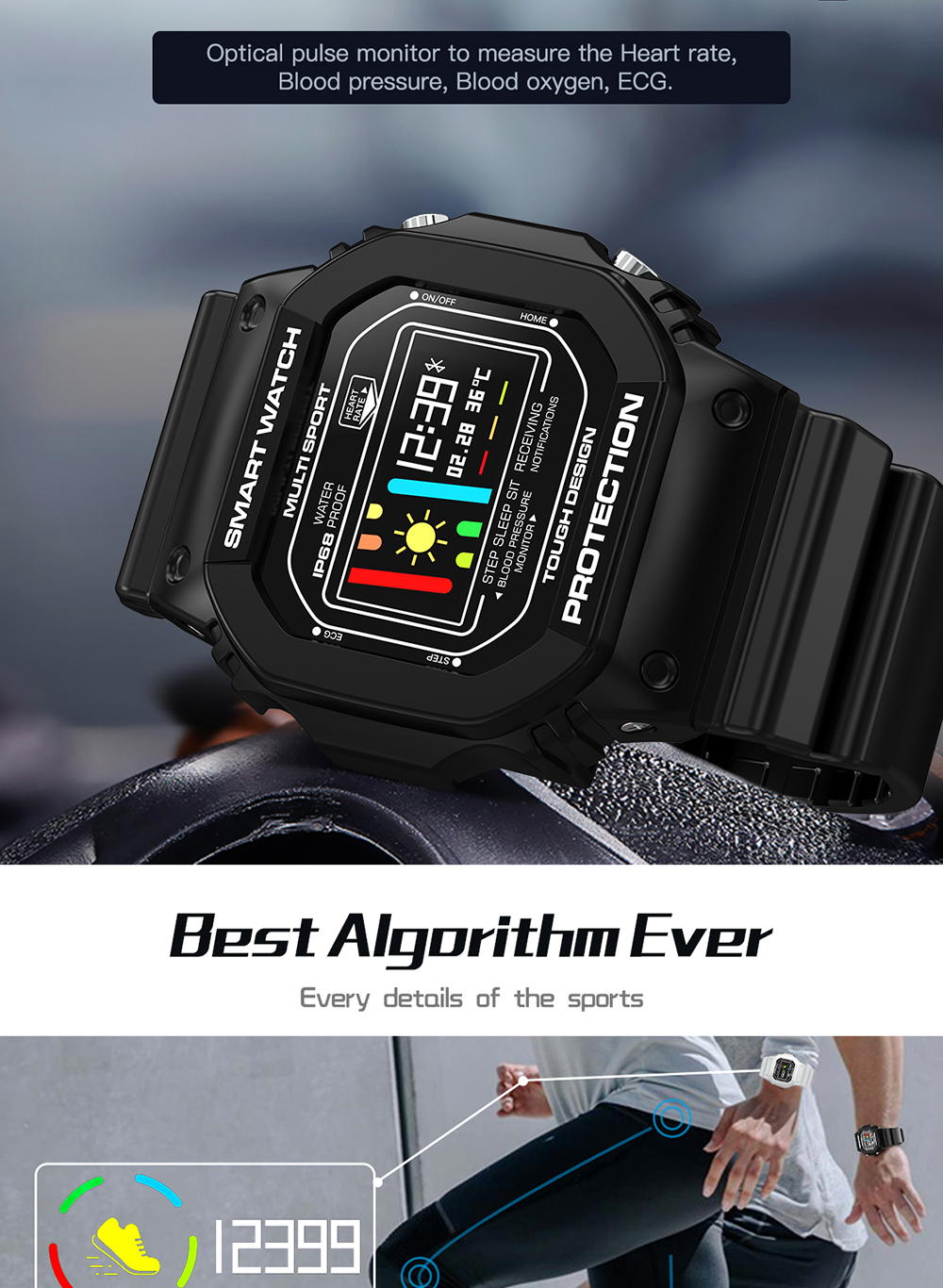 2019 microwear x12 bluetooth smartwatch