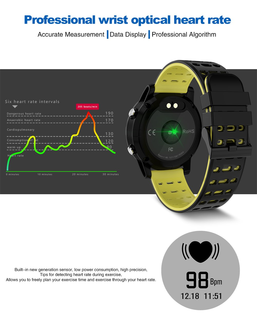 n105 gps smartwatch