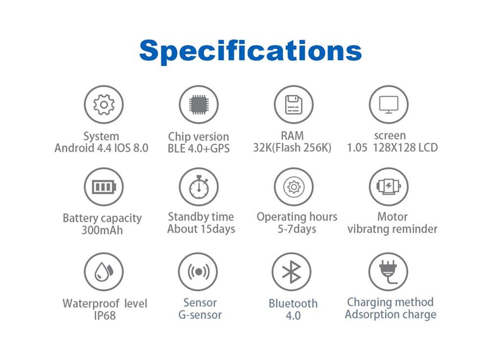 2019 n105 gps smartwatch