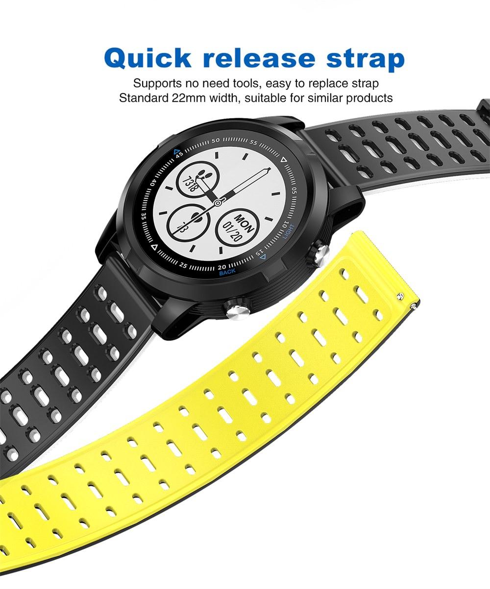 new n105 gps sports smartwatch