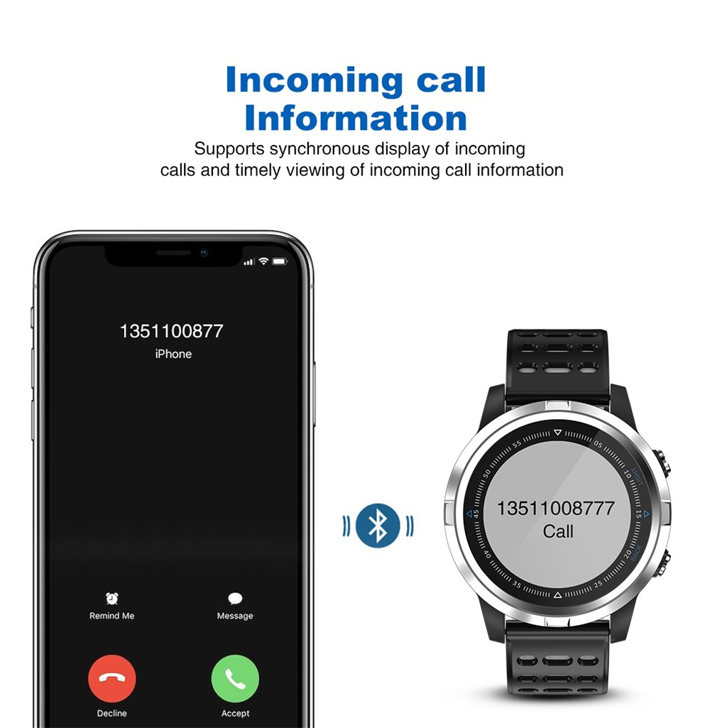 n105 gps bluetooth smartwatch