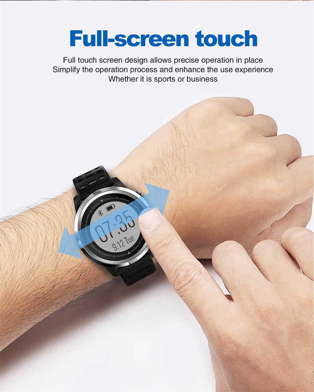 2019 n105 gps bluetooth smartwatch