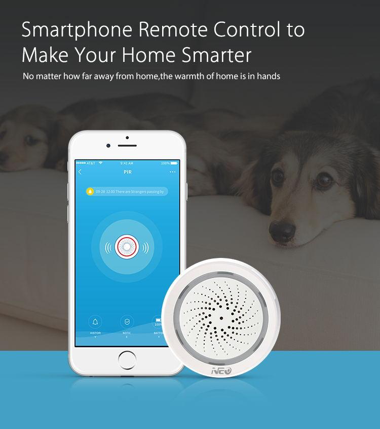 neo alarm sensor with humidity function